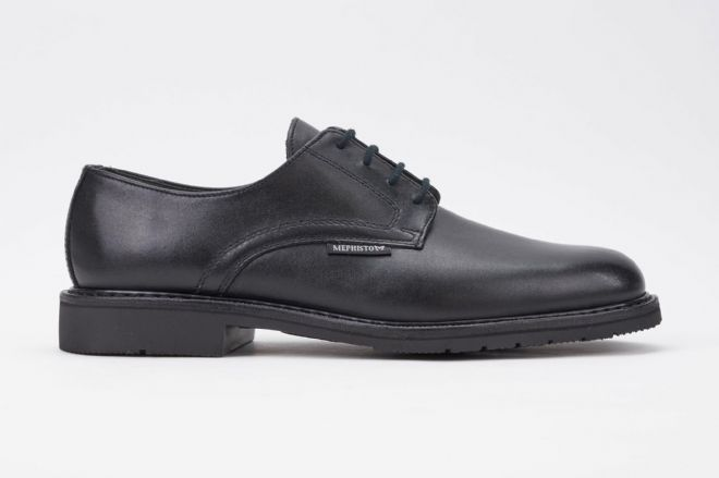 Mephisto 'MARLON' Black Leather